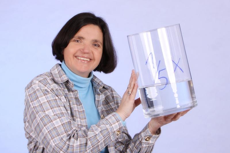 Elisabeth Gierlich - Mit Wasserglas rechnen